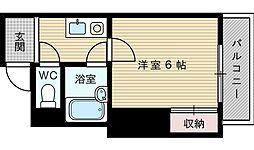 エスペリアー小松[4階]の間取り
