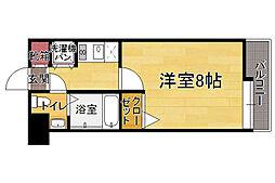 ダイナコートエスタディオ平尾駅前[6階]の間取り