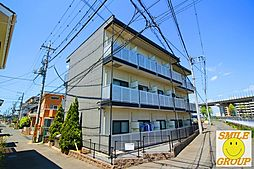 千葉県松戸市上矢切の賃貸マンションの外観