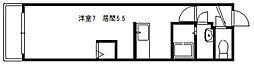 コンパス白石[307号室]の間取り