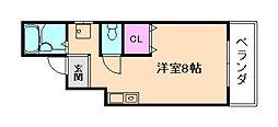 メゾン福栄[2階]の間取り