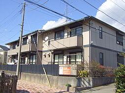神奈川県川崎市宮前区東有馬2丁目の賃貸アパートの外観