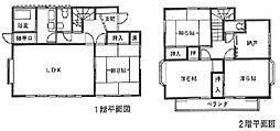 [一戸建] 神奈川県横浜市都筑区川和台 の賃貸【/】の間取り