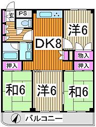 和光ビル[2階]の間取り