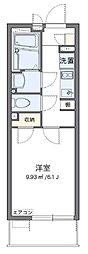 東武東上線 東武練馬駅 徒歩15分の賃貸マンション 2階1Kの間取り