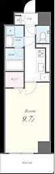 東京メトロ半蔵門線 住吉駅 徒歩7分の賃貸マンション 2階1Kの間取り
