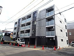 北海道札幌市白石区菊水四条2丁目の賃貸マンションの外観
