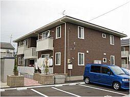 新潟県上越市大字土橋の賃貸アパートの外観