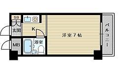 大阪府大阪市東淀川区西淡路2の賃貸マンションの間取り