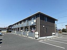 栃木県小山市駅東通り3丁目の賃貸アパートの外観