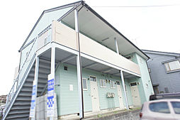 栃木県宇都宮市さつき3丁目の賃貸アパートの外観