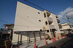 大阪府堺市北区百舌鳥赤畑町4丁の賃貸アパートの外観