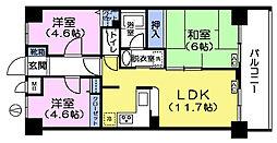 島崎ビル[3階]の間取り