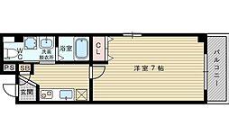 セレブコート豊新[2階]の間取り