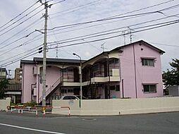 筥松野田荘[201号室]の外観
