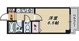 ベルデ堺東[3階]の間取り