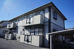 栃木県鹿沼市西茂呂3丁目の賃貸アパートの外観