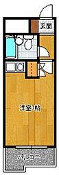 福岡県福岡市博多区博多駅前4の賃貸マンションの間取り
