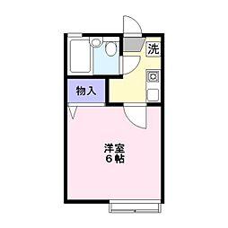 サンハイム鎌ヶ谷A棟[1階]の間取り