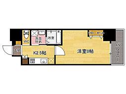 CLUB ORIENT No102[6階]の間取り