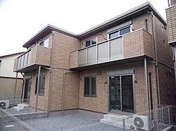 岡山県倉敷市神田2の賃貸アパートの外観