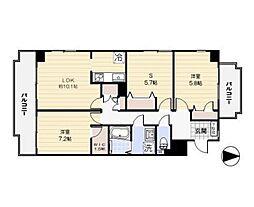 コロニァ・ハウス[201号室]の間取り