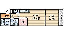 フジパレス堺大浜5番館[2階]の間取り