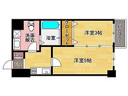 ルネッサンス21薬院サウス[5階]の間取り