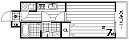 アルティス神戸[1階]の間取り