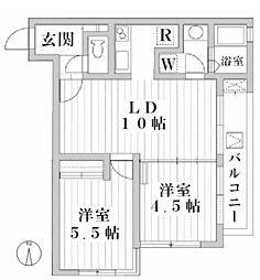 ATRIUM・T[2階]の間取り