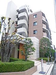 埼玉県越谷市東柳田町の賃貸マンションの外観