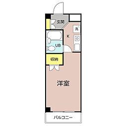稲葉ハイツ[2階]の間取り