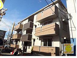 千葉県市川市本塩の賃貸アパートの外観