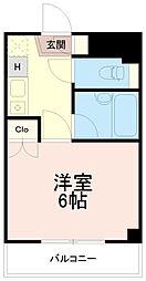 松本ビル[1階]の間取り