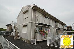 千葉県市川市北国分2丁目の賃貸アパートの外観