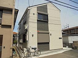 東京都八王子市打越町の賃貸アパートの外観