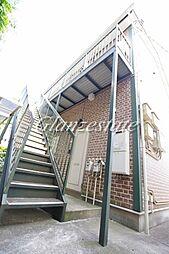 神奈川県横浜市神奈川区神大寺4の賃貸アパートの外観
