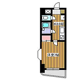 セレーノO・S[7階]の間取り