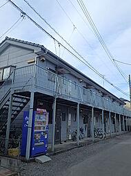埼玉県川越市大字藤間の賃貸アパートの外観