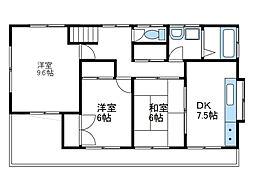 [一戸建] 神奈川県綾瀬市綾西4丁目 の賃貸【/】の間取り