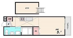 GIULIA須磨浦II[3階]の間取り