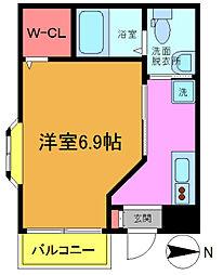 千葉県浦安市猫実3丁目の賃貸マンションの間取り