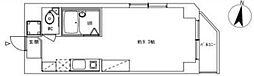 シャルムペンシオン西蒲田[207号室]の間取り
