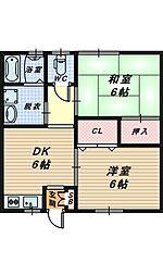 [一戸建] 大阪府堺市西区草部 の賃貸【/】の間取り