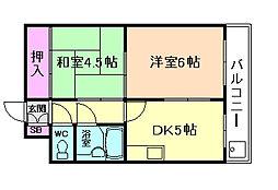ブリリアンマンション[7階]の間取り