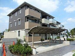 埼玉県鶴ヶ島市大字上広谷の賃貸アパートの外観