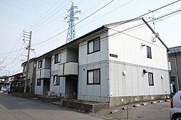 新潟県新発田市御幸町4丁目の賃貸アパートの外観