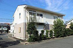 愛知県豊川市川花町2丁目の賃貸アパートの外観