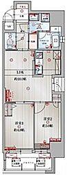 アクタス博多駅東IIスクエア[1204号室]の間取り
