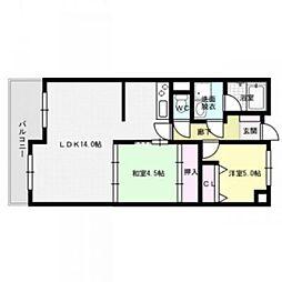 ユートピアマンション[2階]の間取り